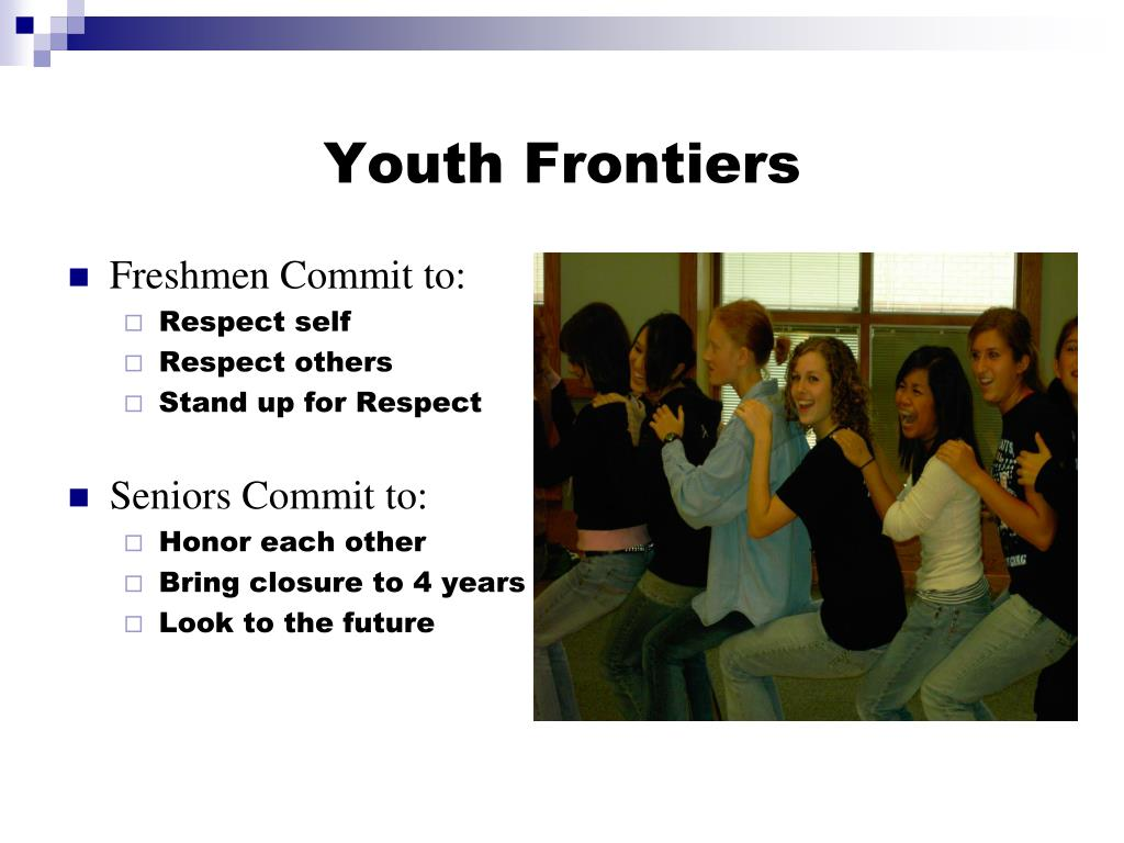 Youth Frontiers