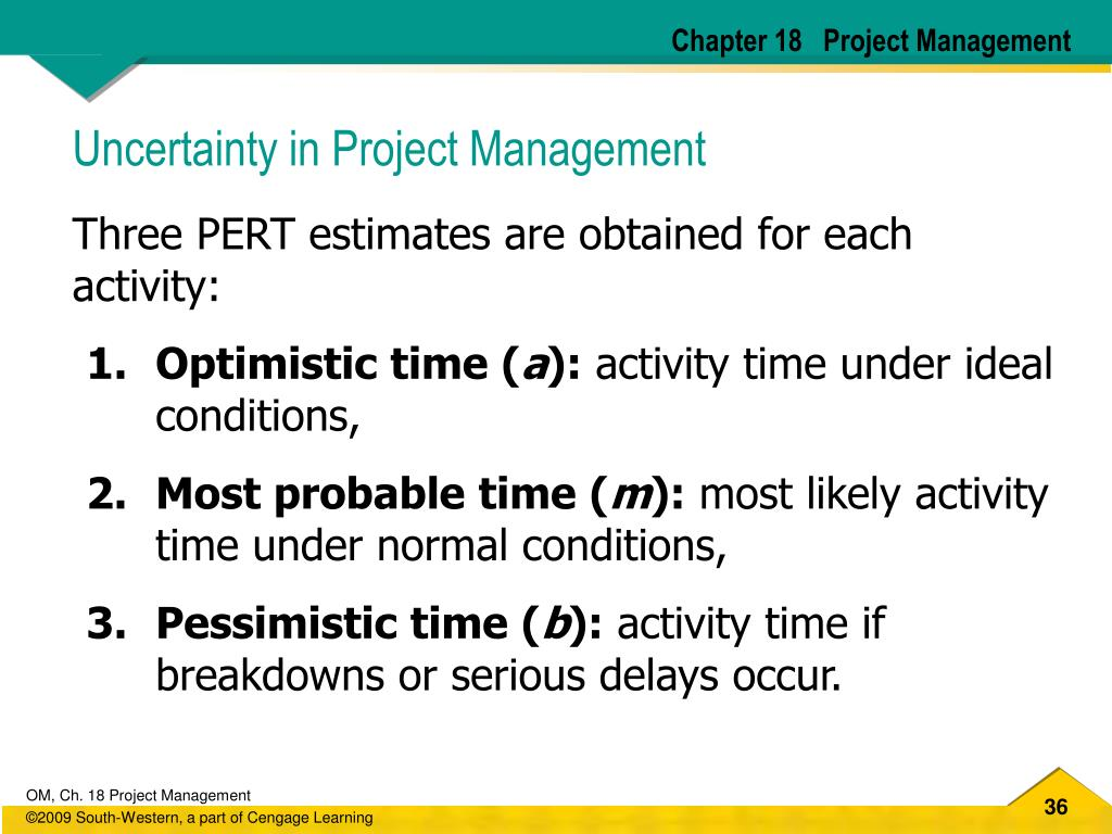 Chapter 18   Project Management