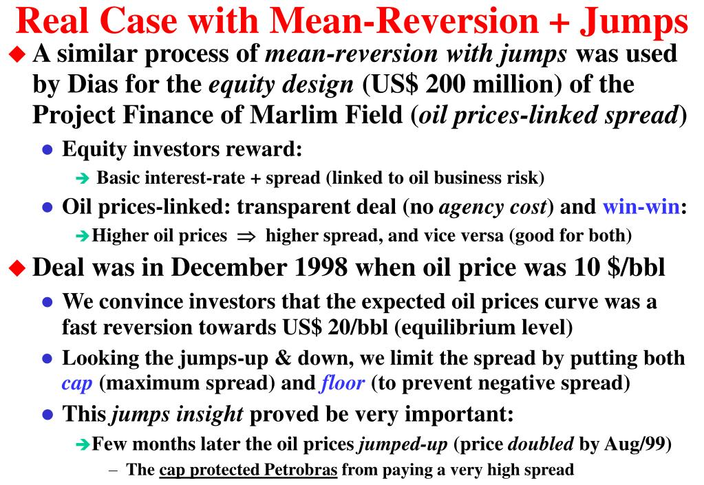 Real Case with Mean-Reversion + Jumps