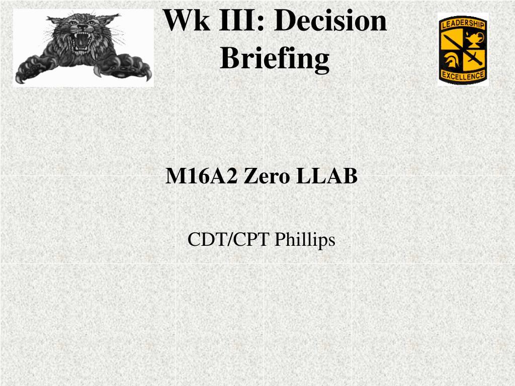 M16A2 Zero LLAB