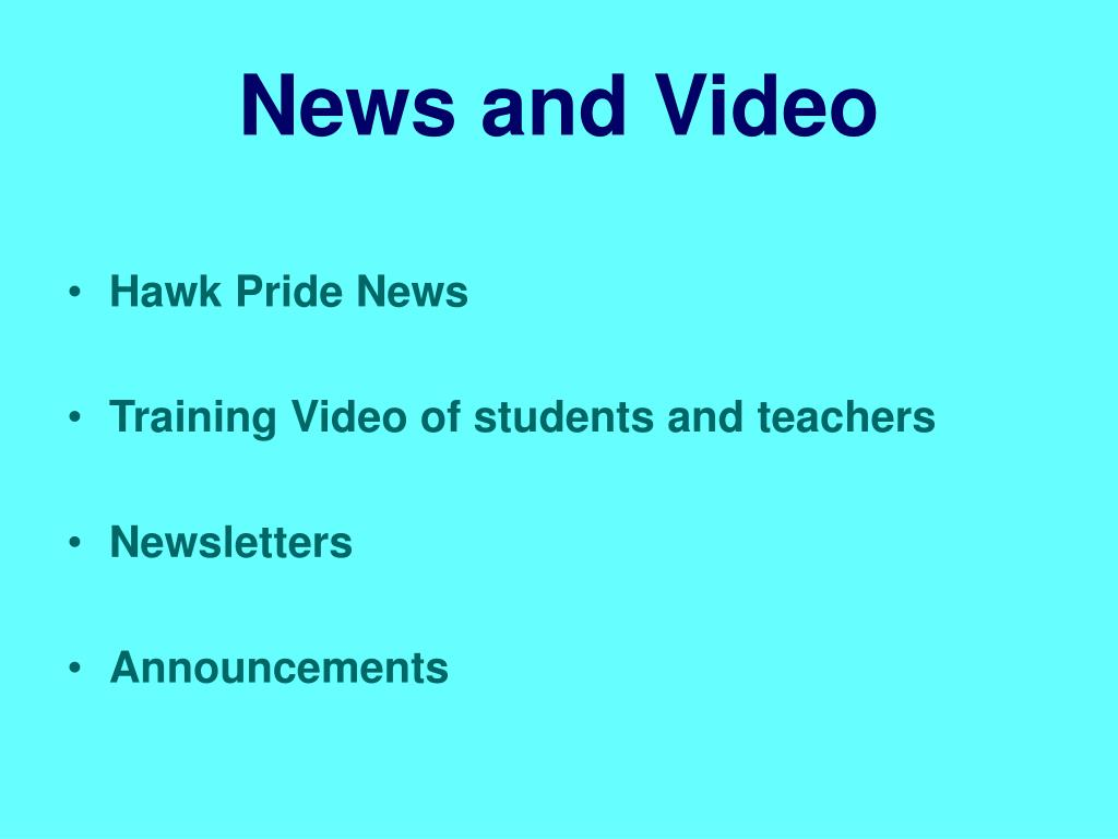 News and Video