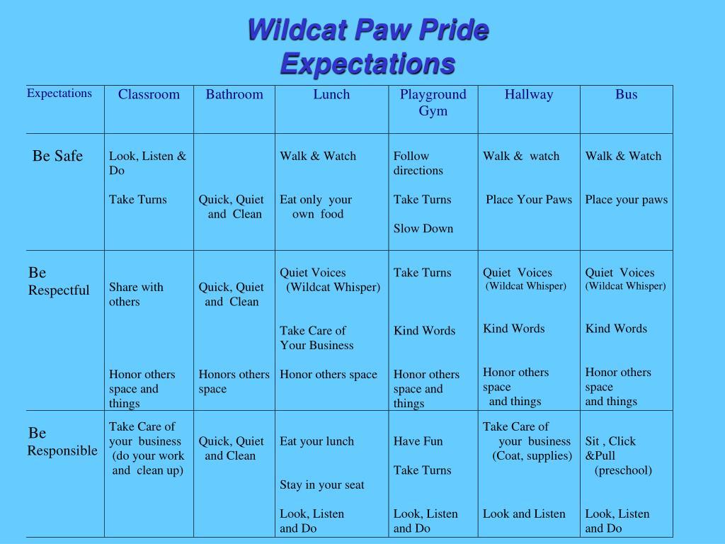 Wildcat Paw Pride