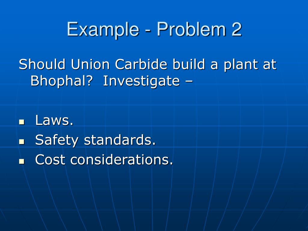 Example - Problem 2