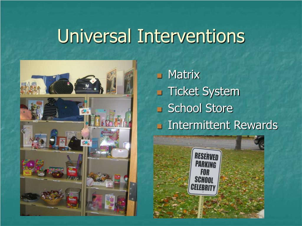 Universal Interventions
