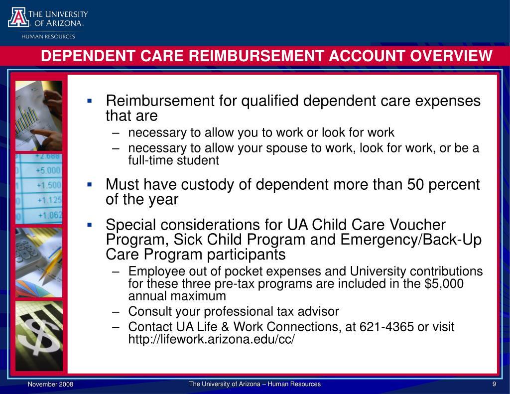 DEPENDENT CARE REIMBURSEMENT ACCOUNT OVERVIEW