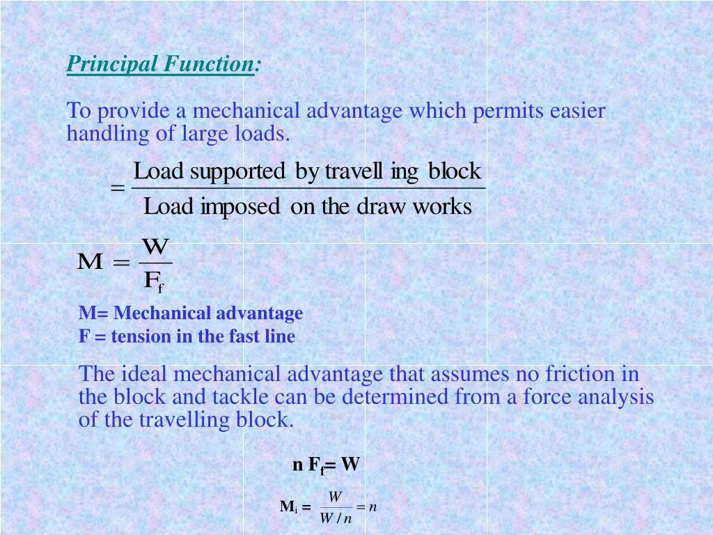 Principal Function