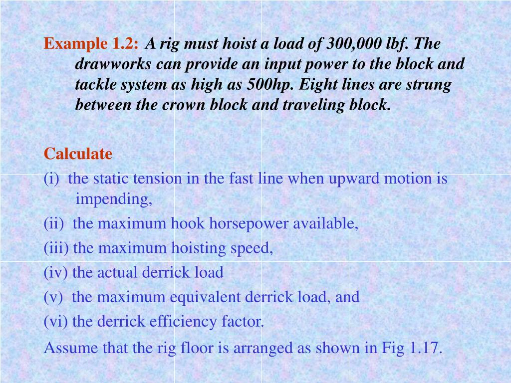 Example 1.2: