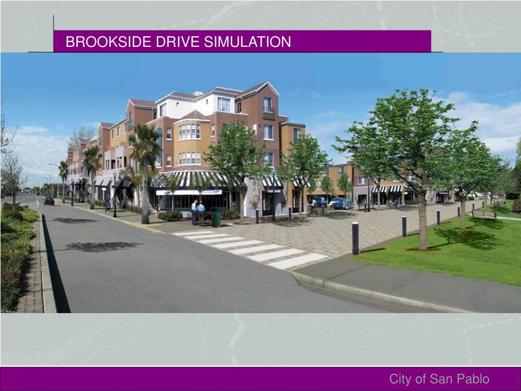BROOKSIDE DRIVE SIMULATION