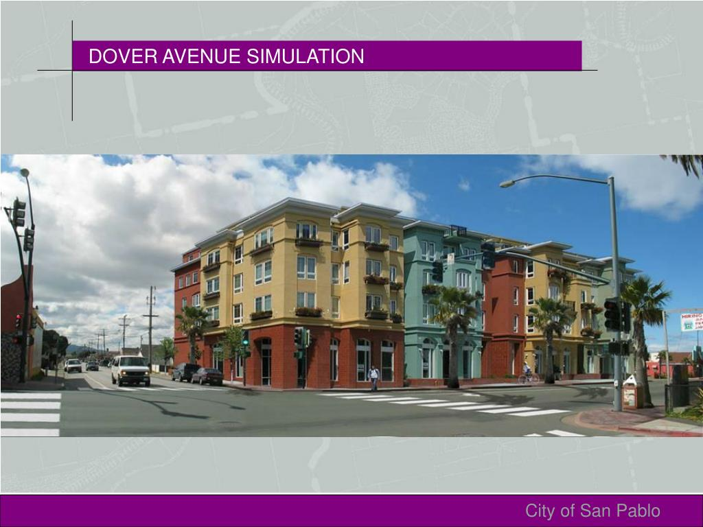 DOVER AVENUE SIMULATION