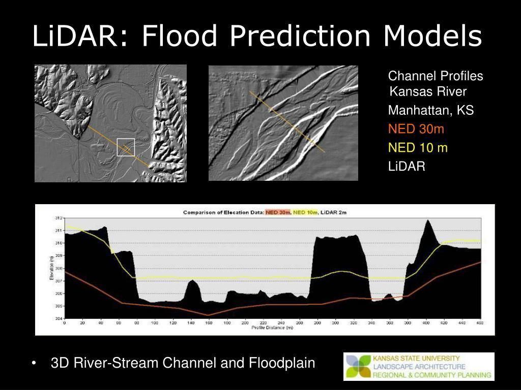 LiDAR: Flood Prediction Models