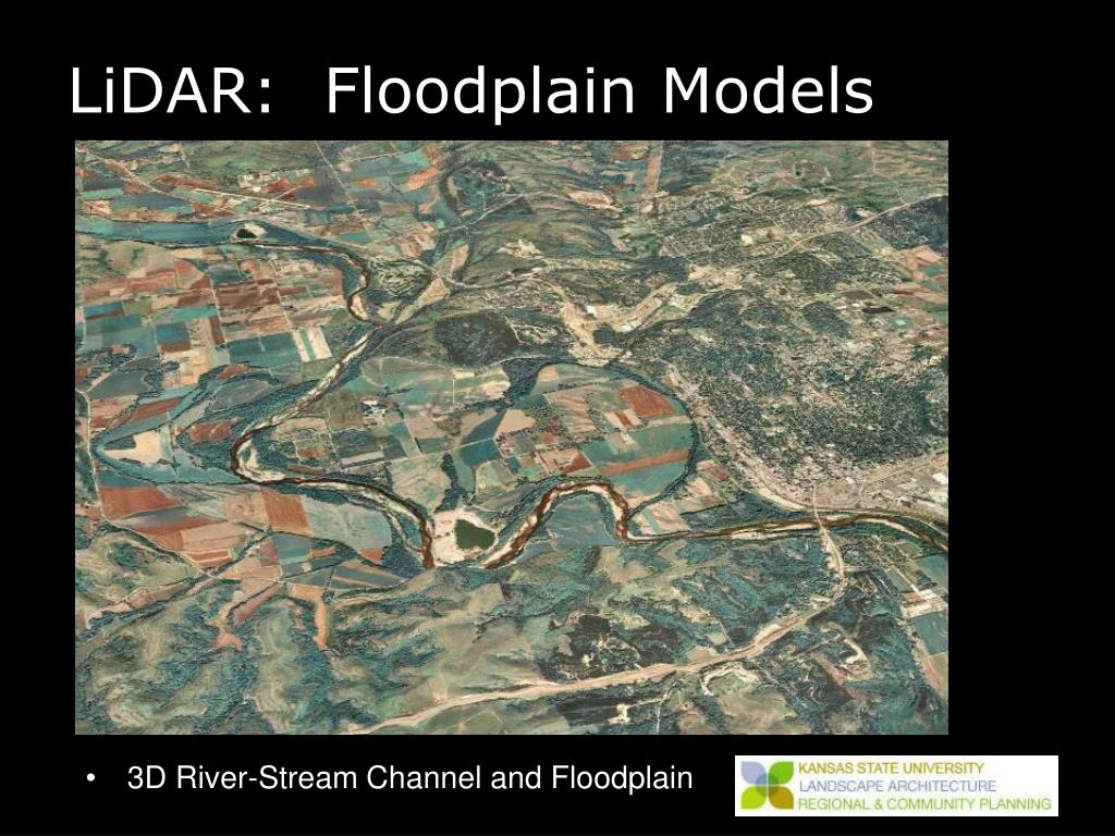 LiDAR:  Floodplain Models
