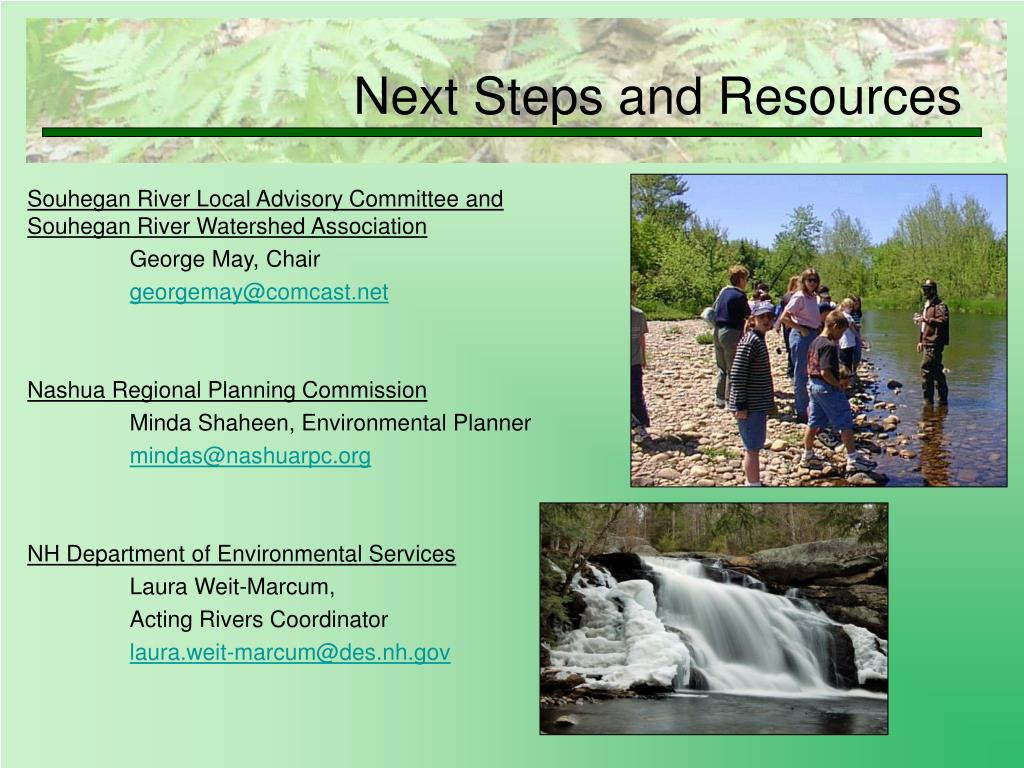 Souhegan River Local Advisory Committee and Souhegan River Watershed Association