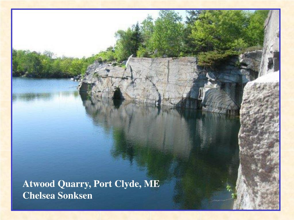 Atwood Quarry, Port Clyde, ME