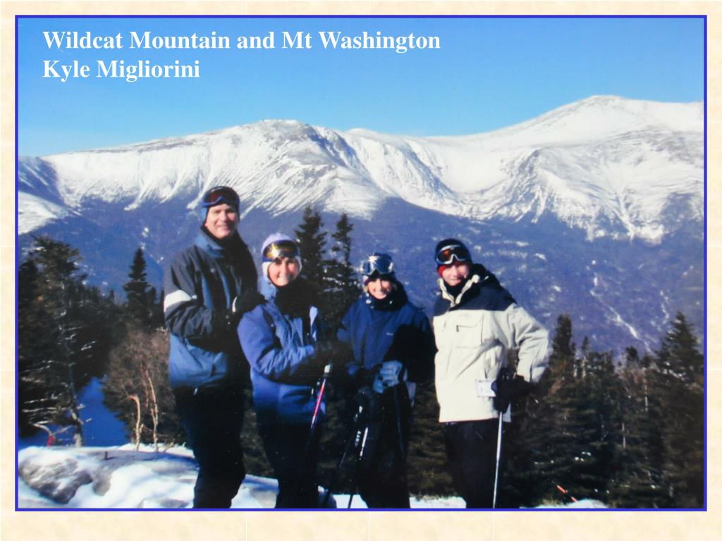 Wildcat Mountain and Mt Washington