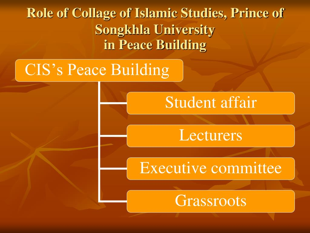 Role of Collage of Islamic