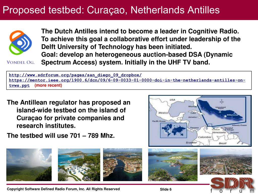 Proposed testbed: