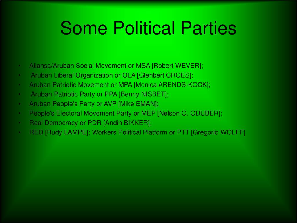 Some Political Parties