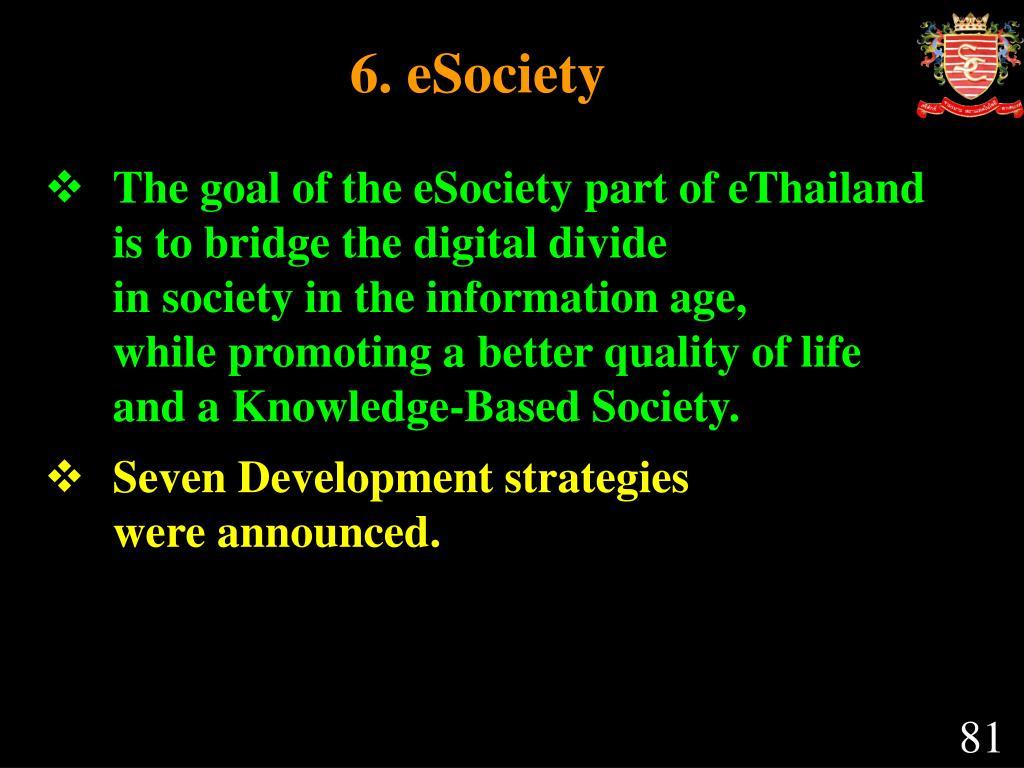 6. eSociety