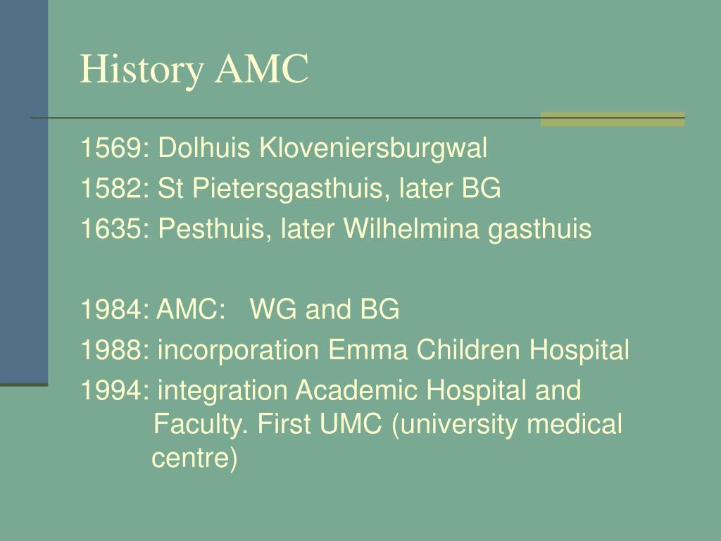 History AMC