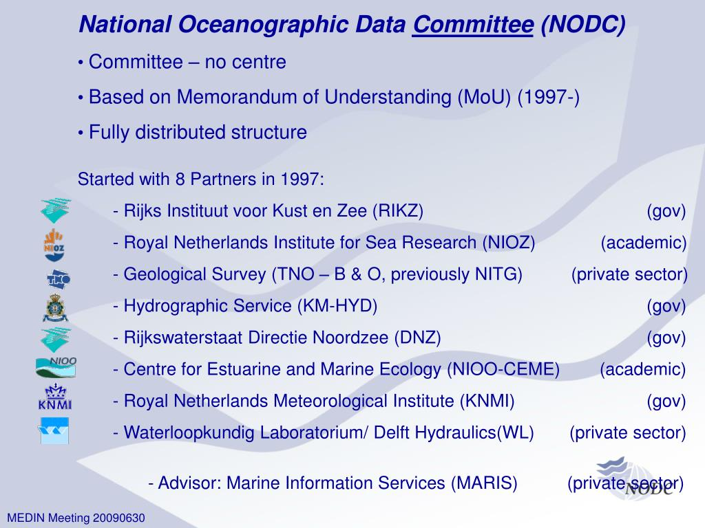 National Oceanographic Data