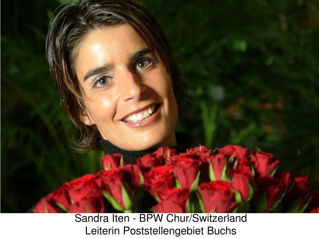 Sandra Iten - BPW Chur/Switzerland