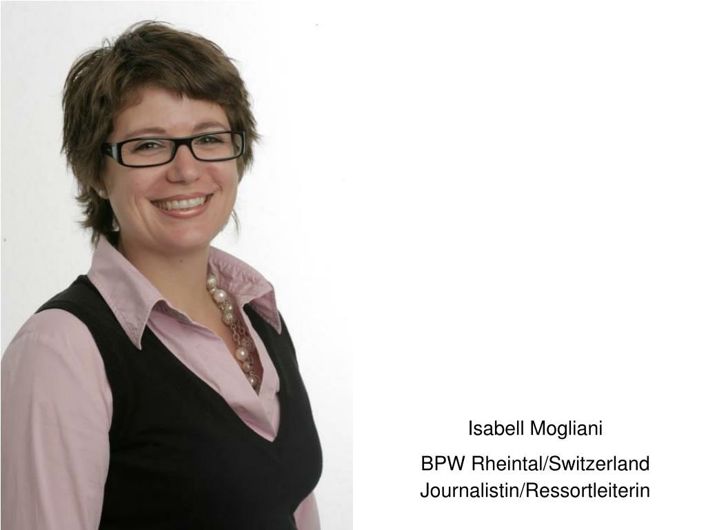 Isabell Mogliani