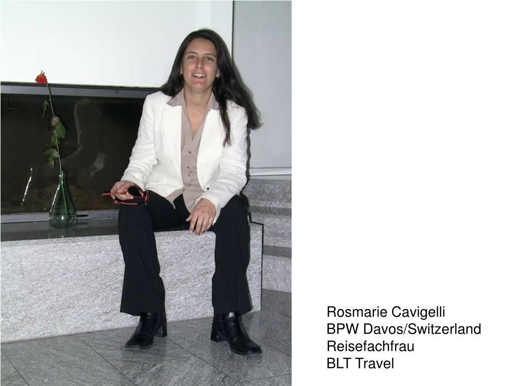 Rosmarie Cavigelli