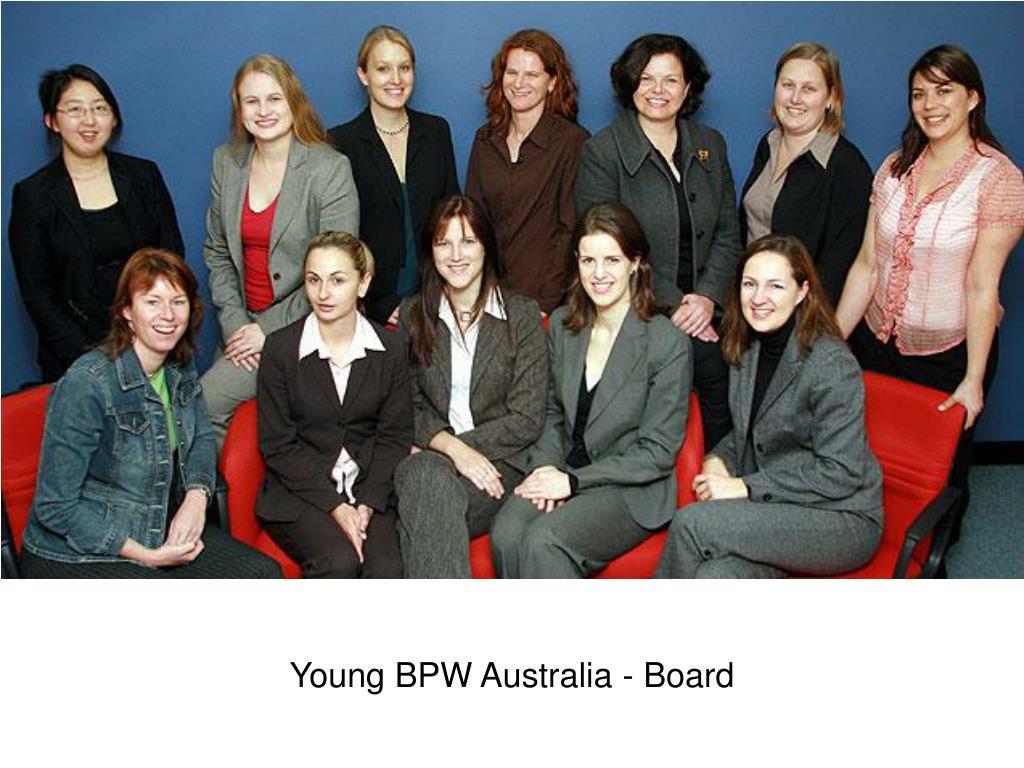 Young BPW Australia - Board