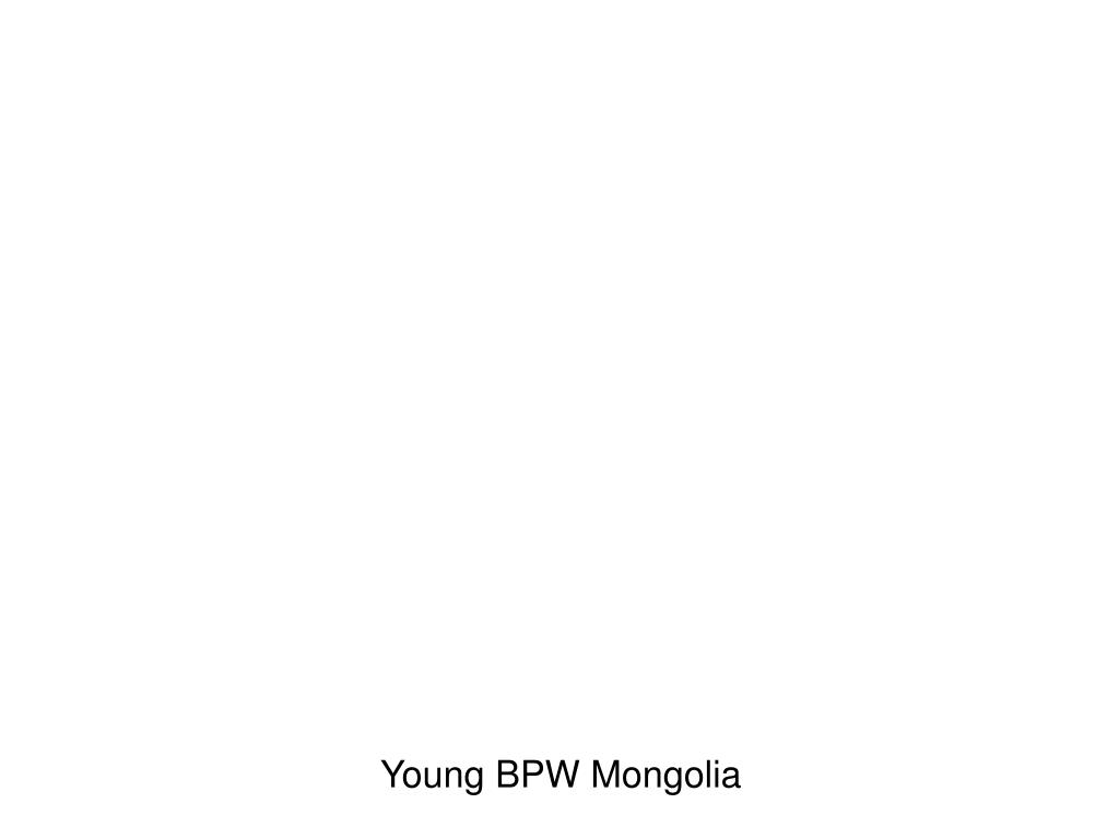 Young BPW Mongolia