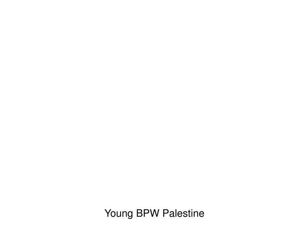 Young BPW Palestine