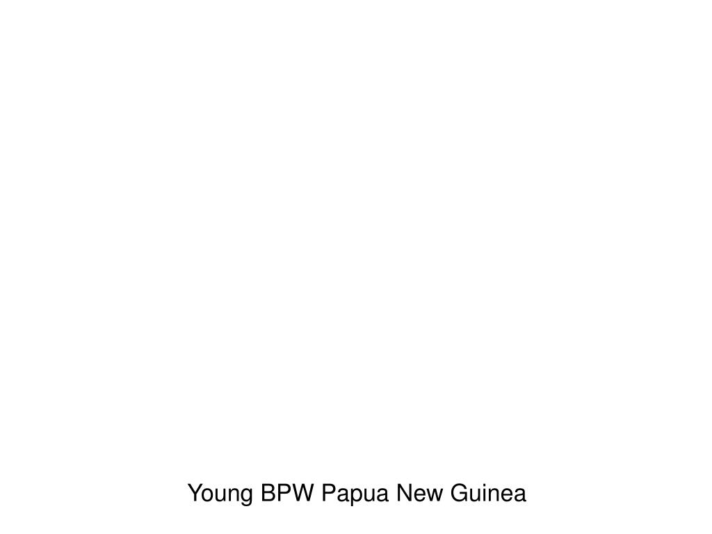 Young BPW Papua New Guinea