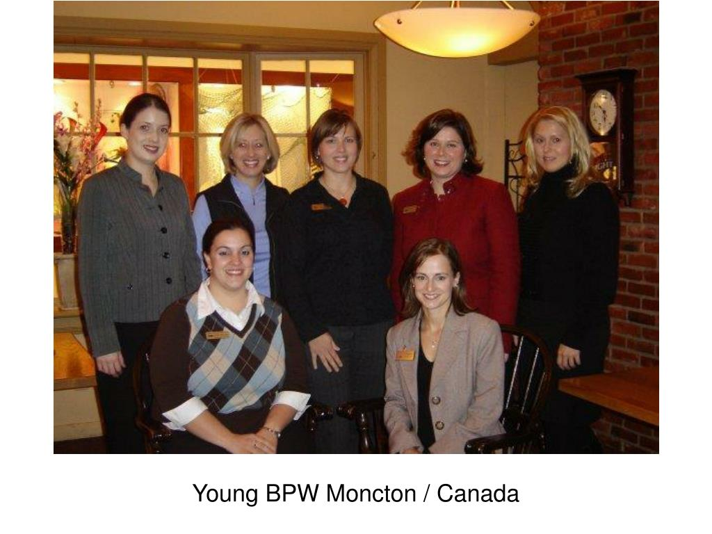 Young BPW Moncton / Canada