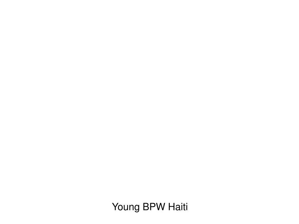 Young BPW Haiti
