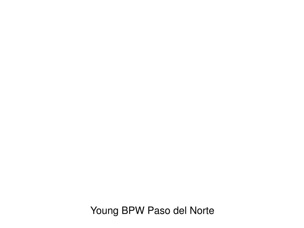 Young BPW Paso del Norte