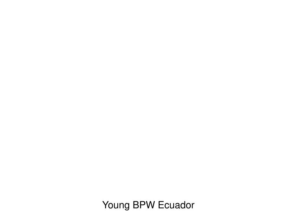 Young BPW Ecuador