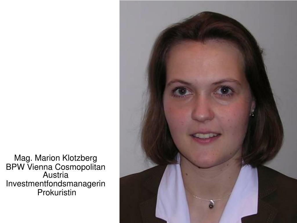 Mag. Marion Klotzberg
