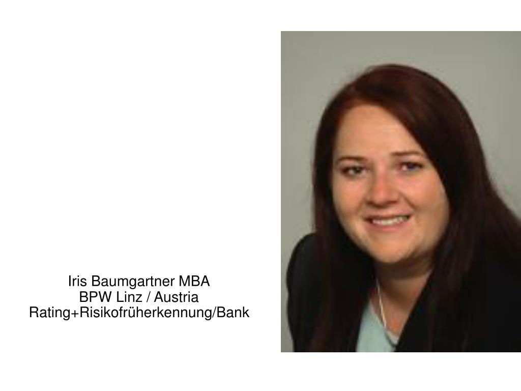 Iris Baumgartner MBA
