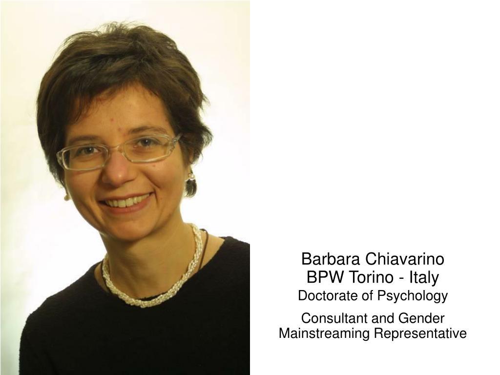 Barbara Chiavarino