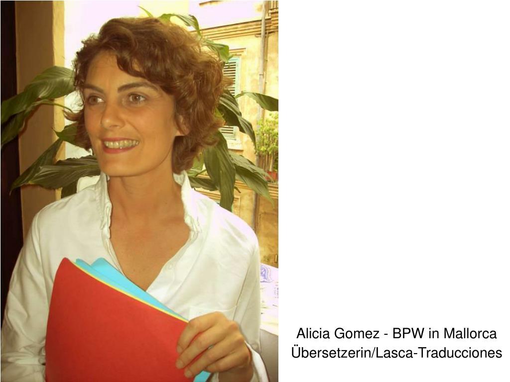 Alicia Gomez - BPW in Mallorca