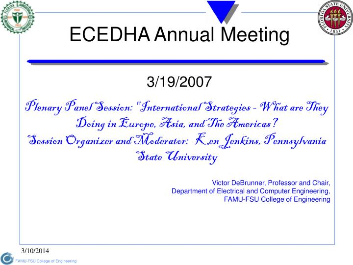 Ecedha annual meeting