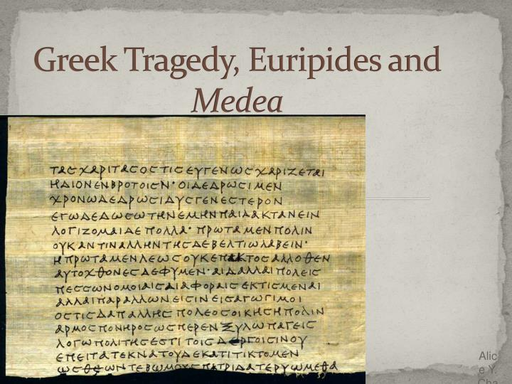 the alienation in the culture and society in the play medea by euripides Read this essay on character analysis of beowulf  the play medea by euripides first  paper is an analysis of the theme of alienation in dagberto.