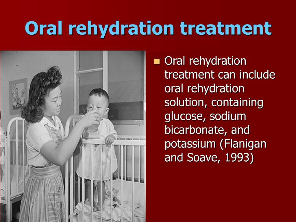 Oral rehydration treatment