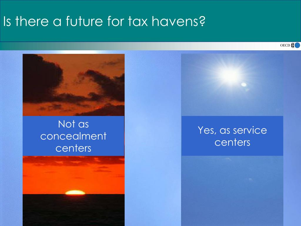 Is there a future for tax havens?