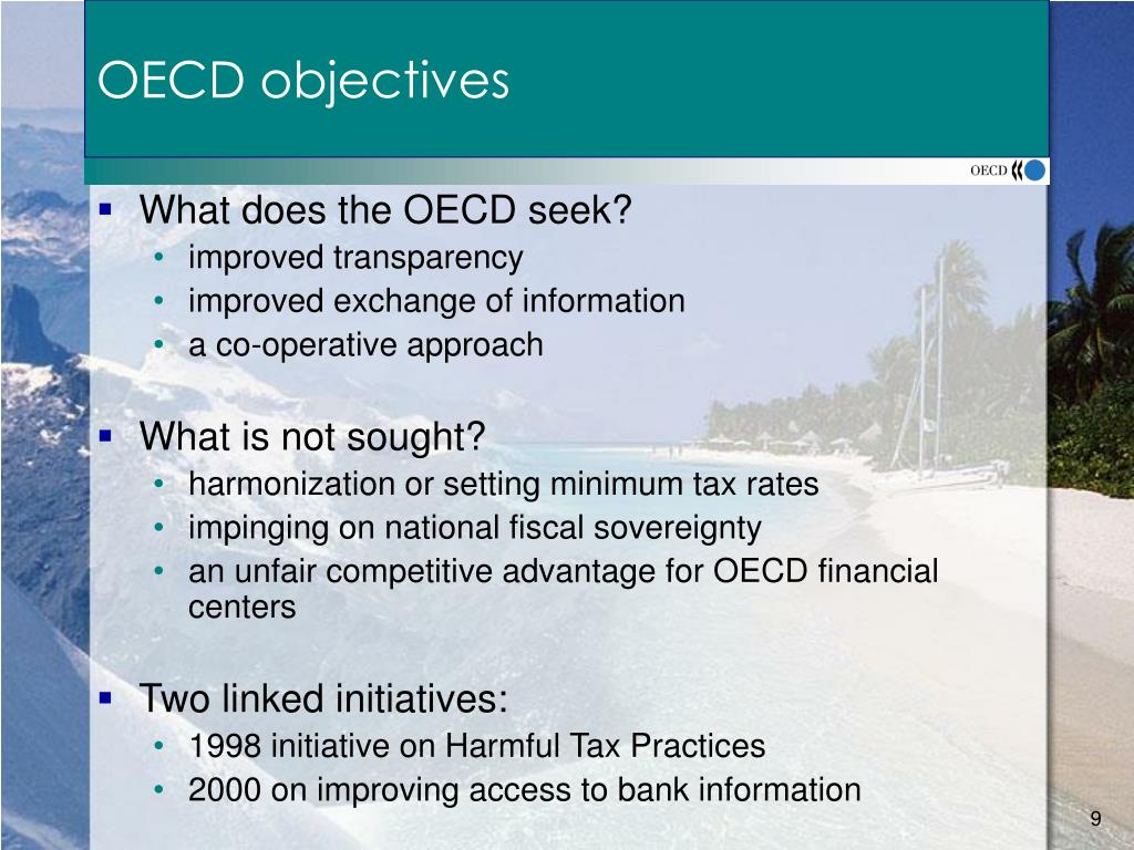 OECD objectives