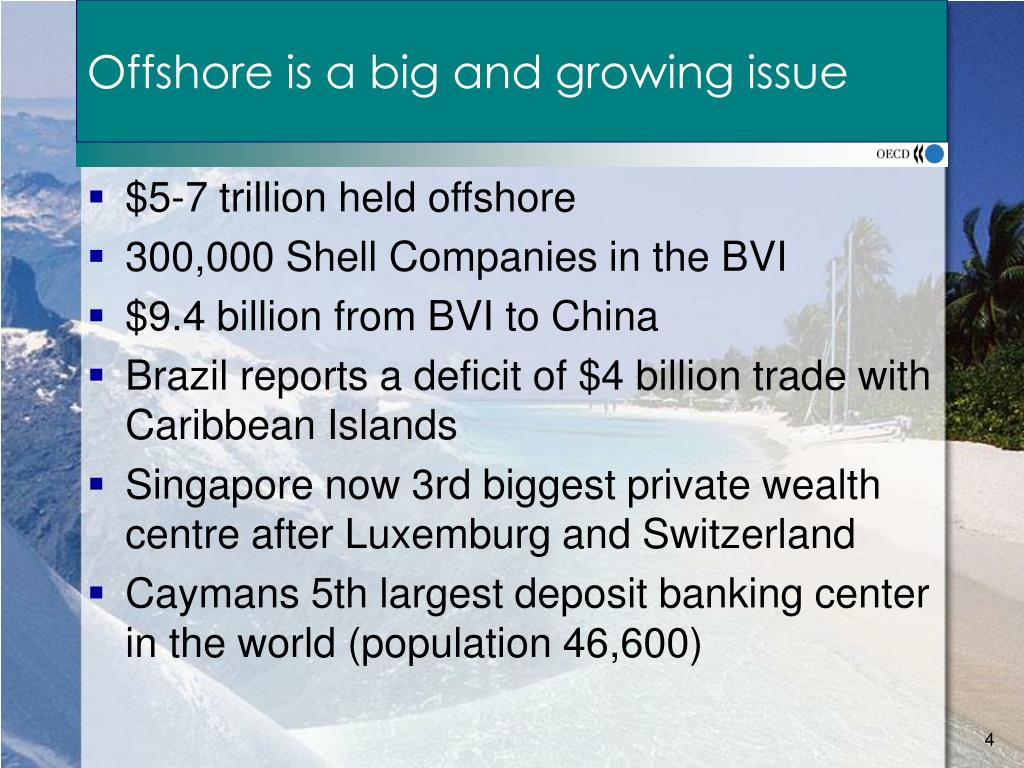 Offshore is a big and growing issue