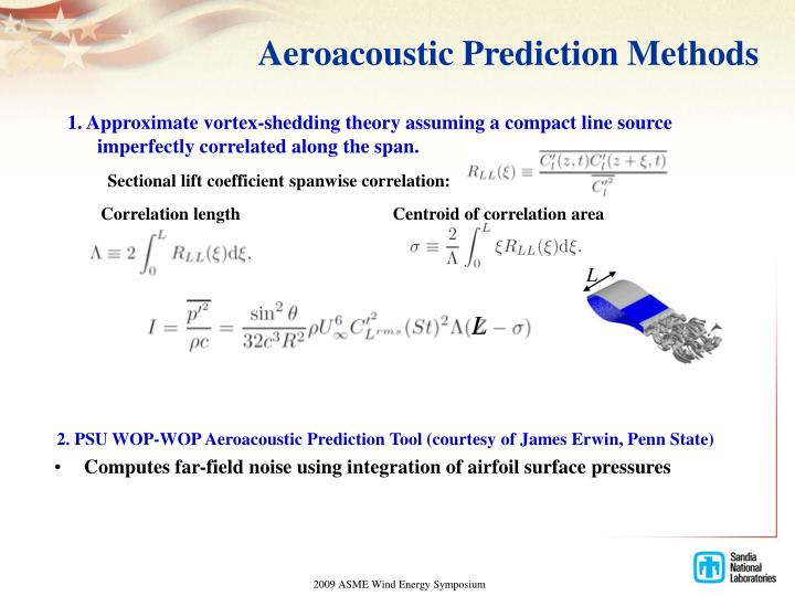 Aeroacoustic Prediction Methods