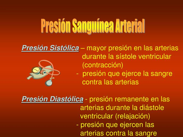 Presión Sanguínea Arterial