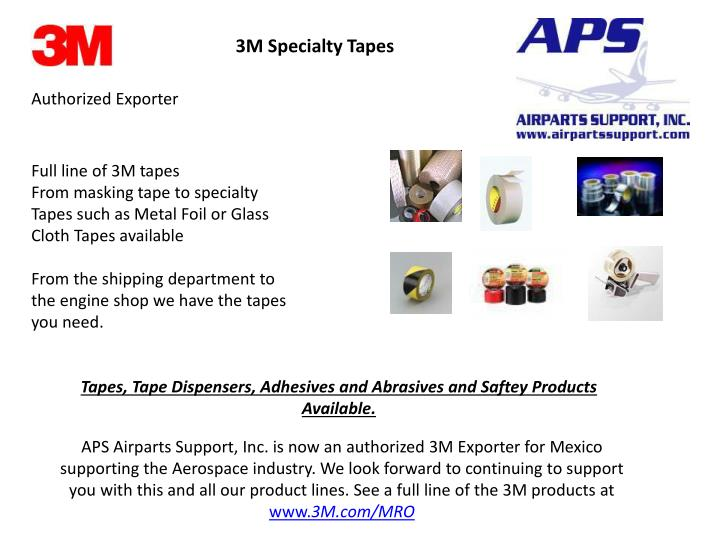 3M Specialty Tapes