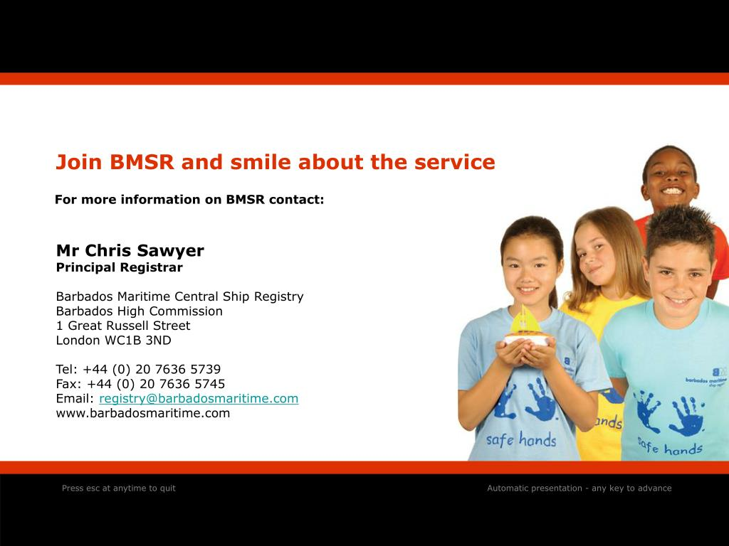 Join BMSR and smile about the service