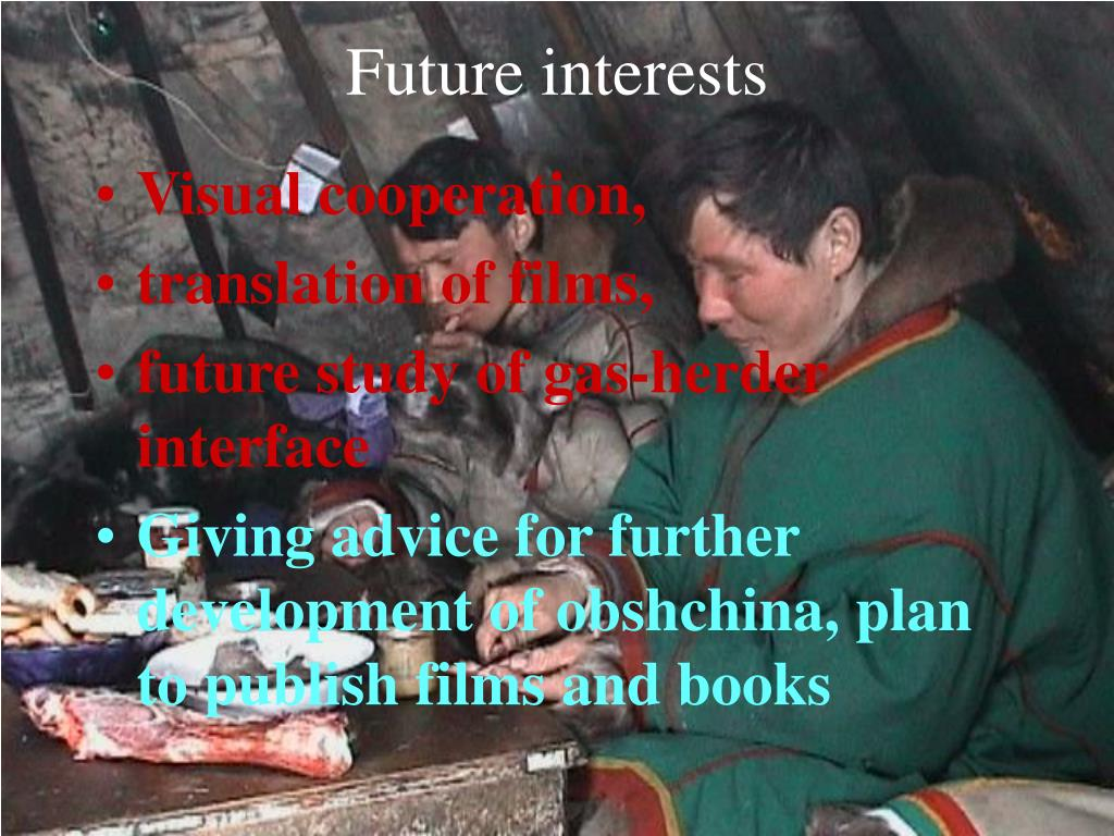 Future interests